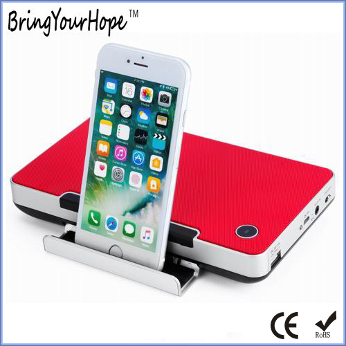 10W High Sound 2200mAh-Powerbank Bluetooth Speaker with Phone/Tablet Holder (XH-PS-635)