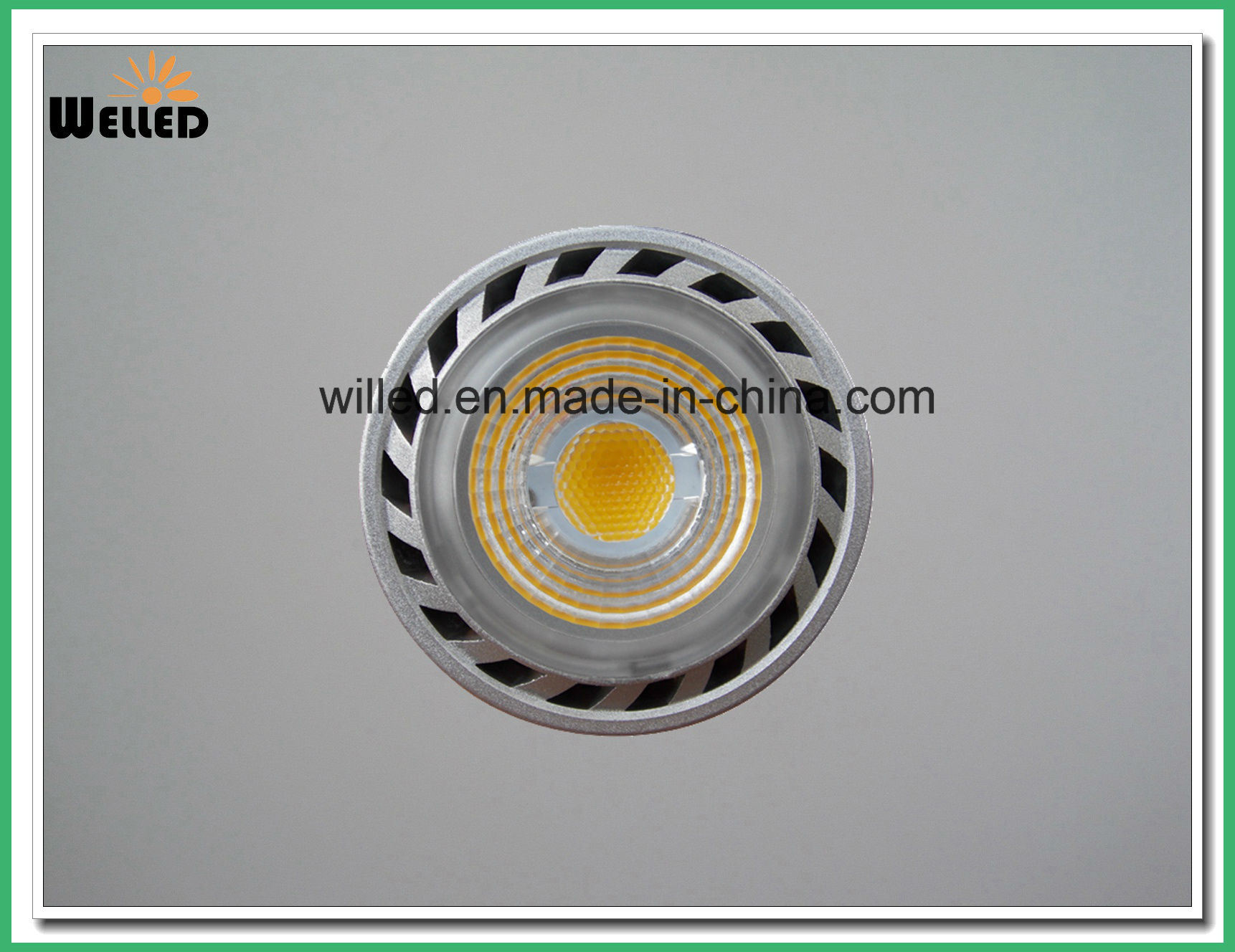 COB 5W LED Spot Light Bulb Jdre Spotlight E27 Ce RoHS Certification with 80lm/W CRI80 for Indoor Use