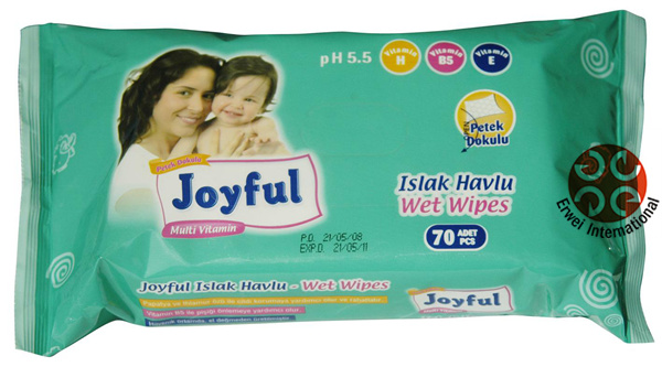 OEM Customize label Natural Care Baby Wipes