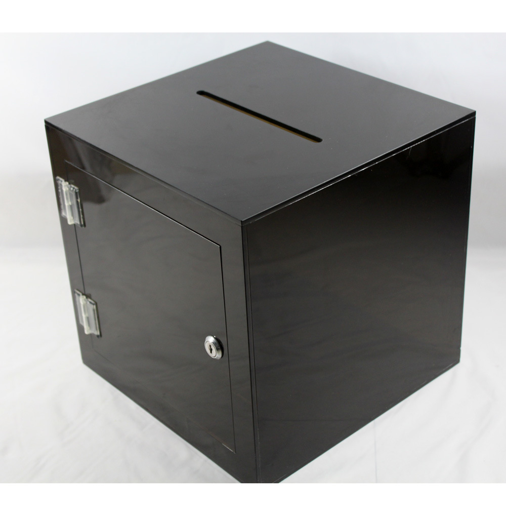 Customize Plexiglass Clear Acrylic Vote Donation Suggestion Box