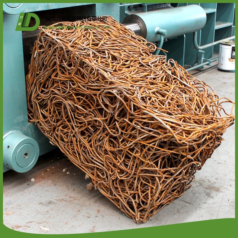 YB81-400 Hydraulic Baler for Scrap Metal Recycling