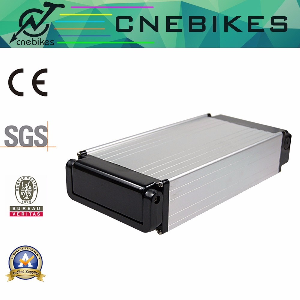 High Capacity Rear Rack Lithium Pack 48V 20ah Battery for Electric Bicycle Kit