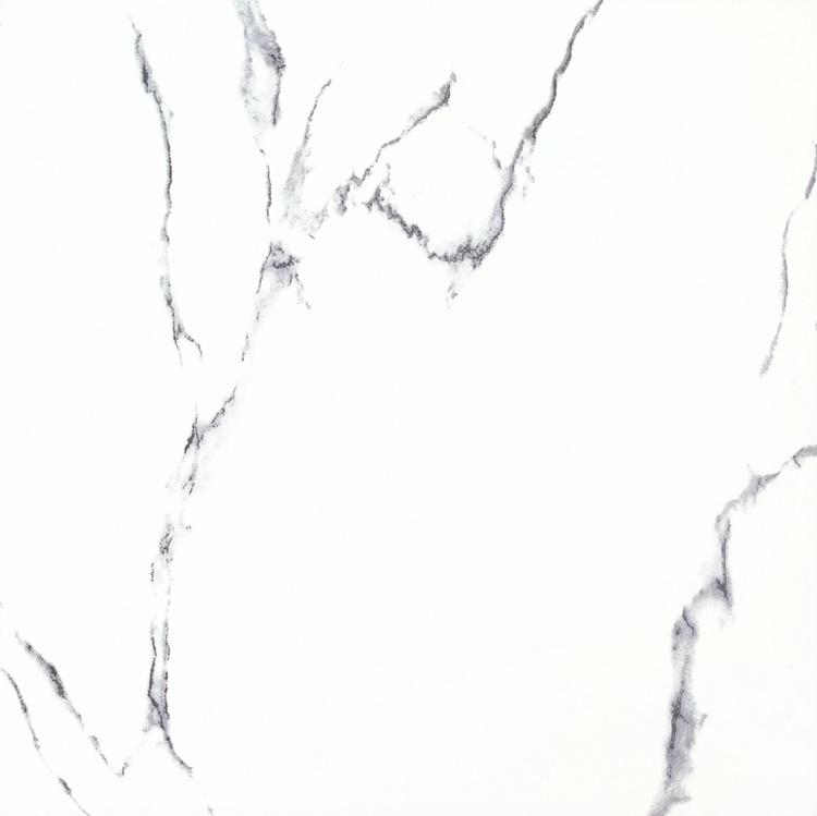 Calacatta White Glossy White Glazed Porcelain Floor Tile