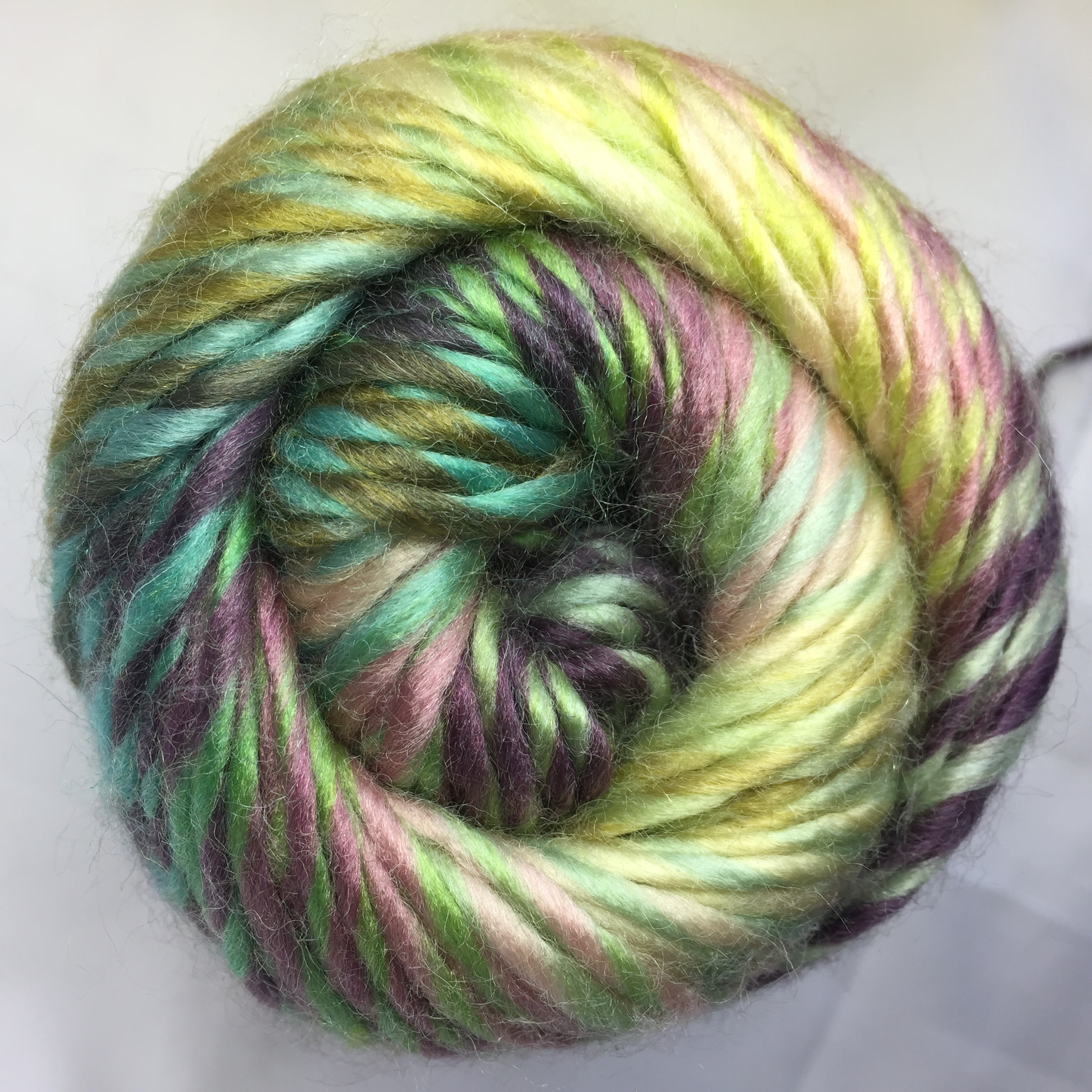 Handknitting Yarn, Fancy Yarn, Roving Yarn, Jd9418