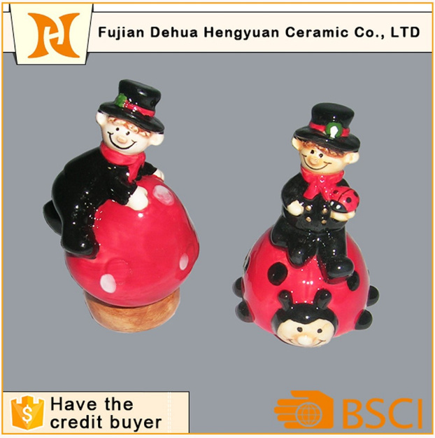 Small Chimney People Ceramic Gift Hand Craft