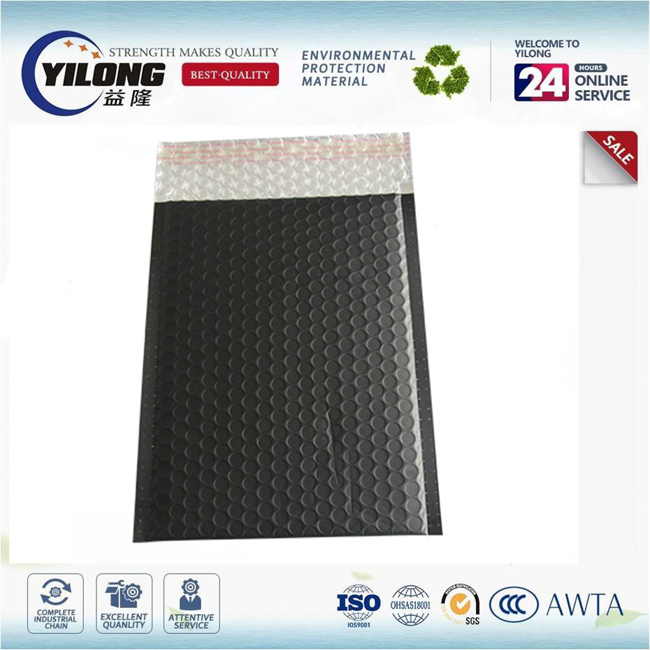 Shock Resistant Metallic Aluminum Film Bubble Cushioned Envelope