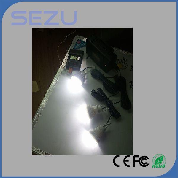 Emergency Solar Home System