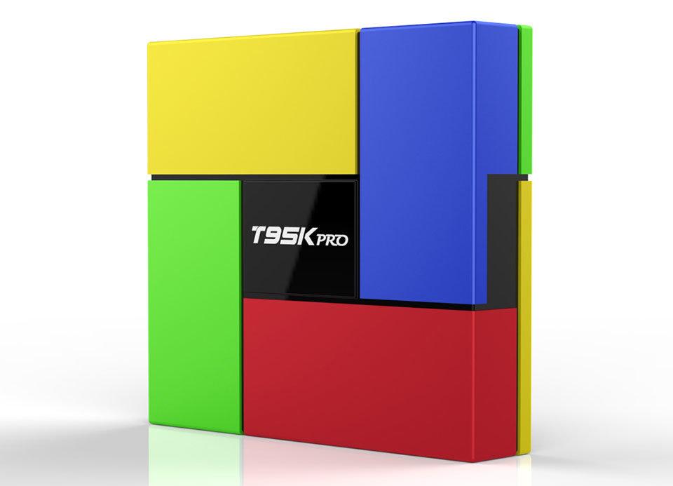 Custom Made Android Streaning TV Box S912 Octa Core T95k-2GB/16GB