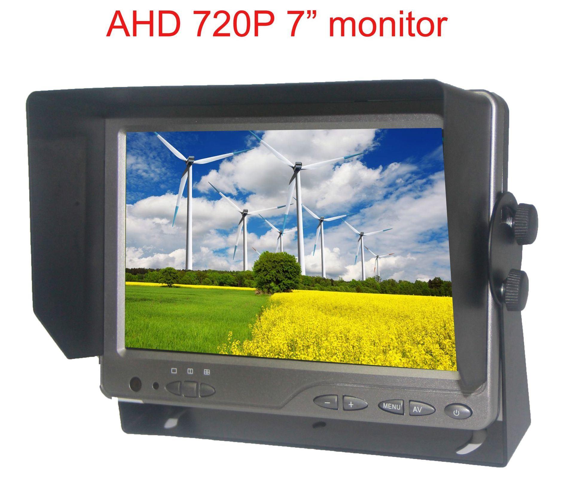 7inch Split Quad Rear View Camera Backup Car Monitor