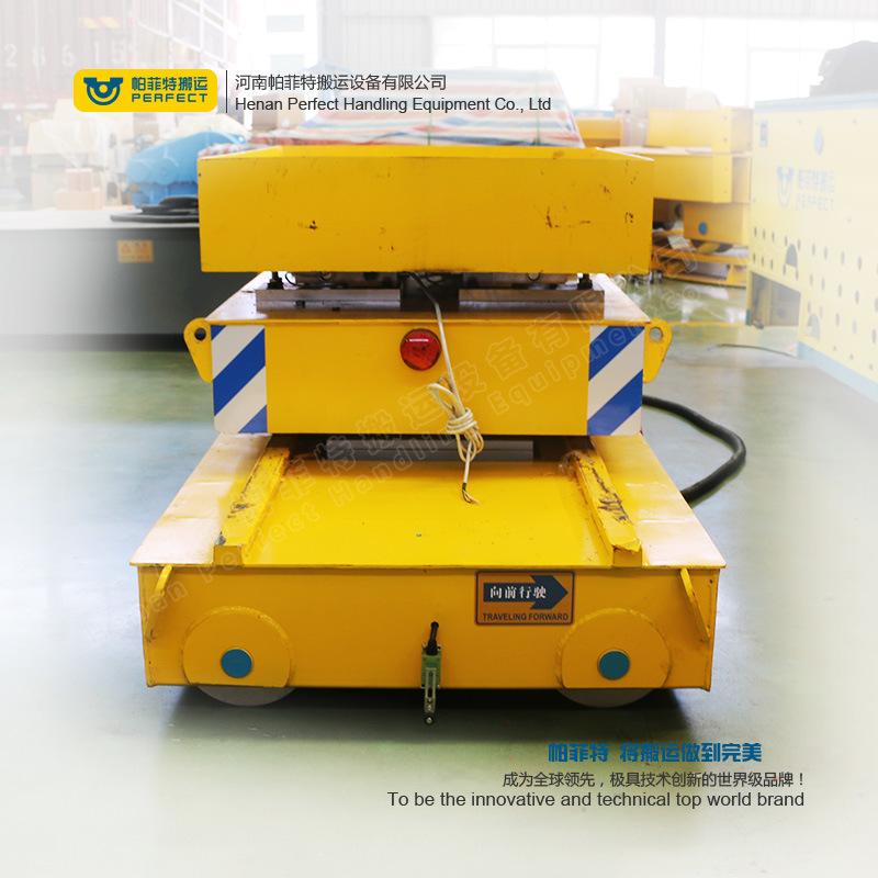 Industry Line Apply Trailer Motorized Production Transfer Bogie