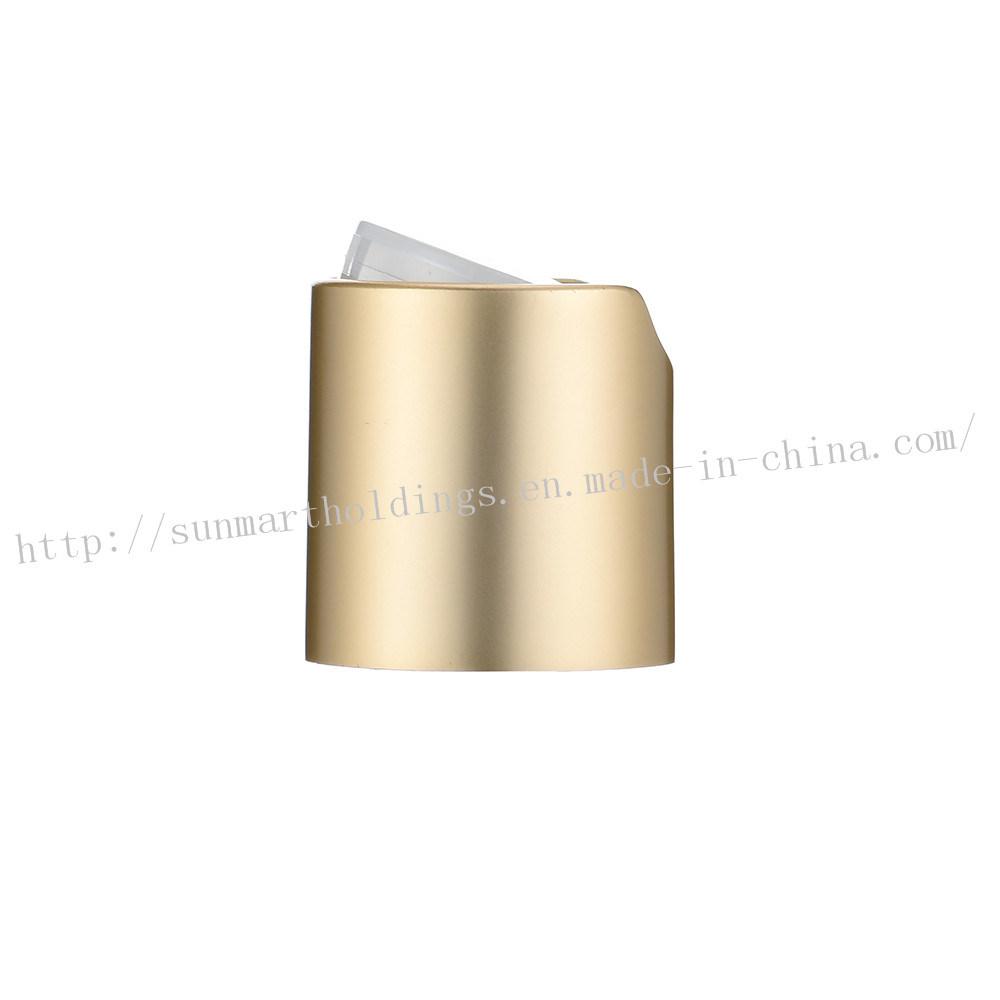 Aluminium Disc Top Cap for Perfume Sprayer and Bottle