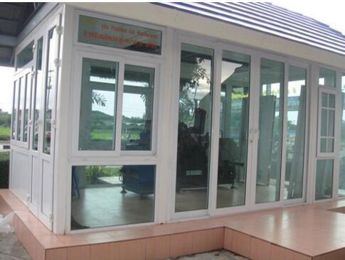 UPVC Window with Colonial Bars Manufacturing PVC Window Hinge PVC/UPVC Window