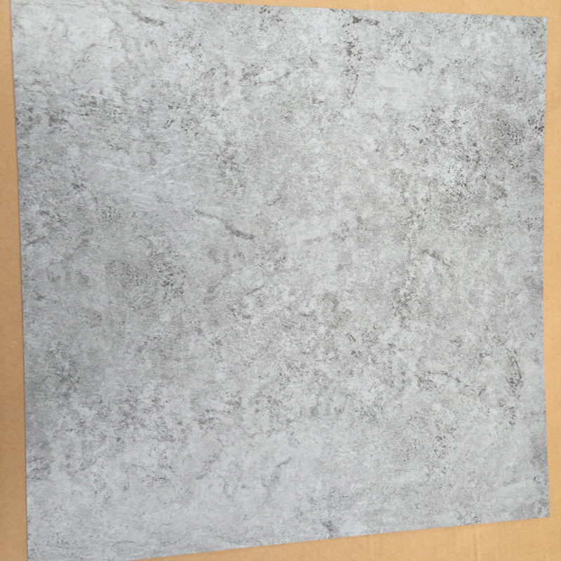 "Slate Embossed PVC Dry Back / Glue Down / Vinyl Floor Tiles (18""X18′′, 36′′x36′′)"