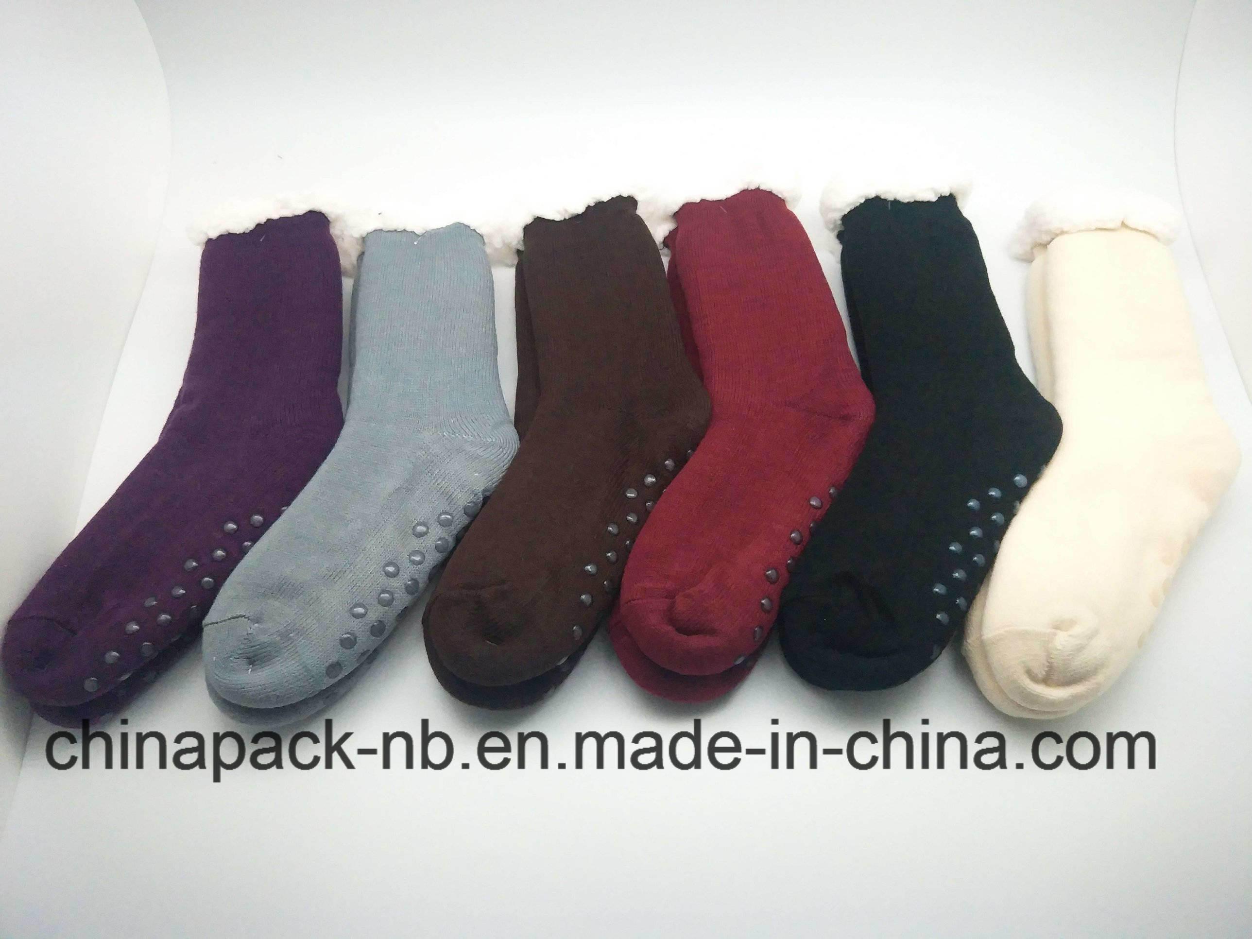 Homesocks Cotton Socks Solid Color, Single Color, Legging Sock