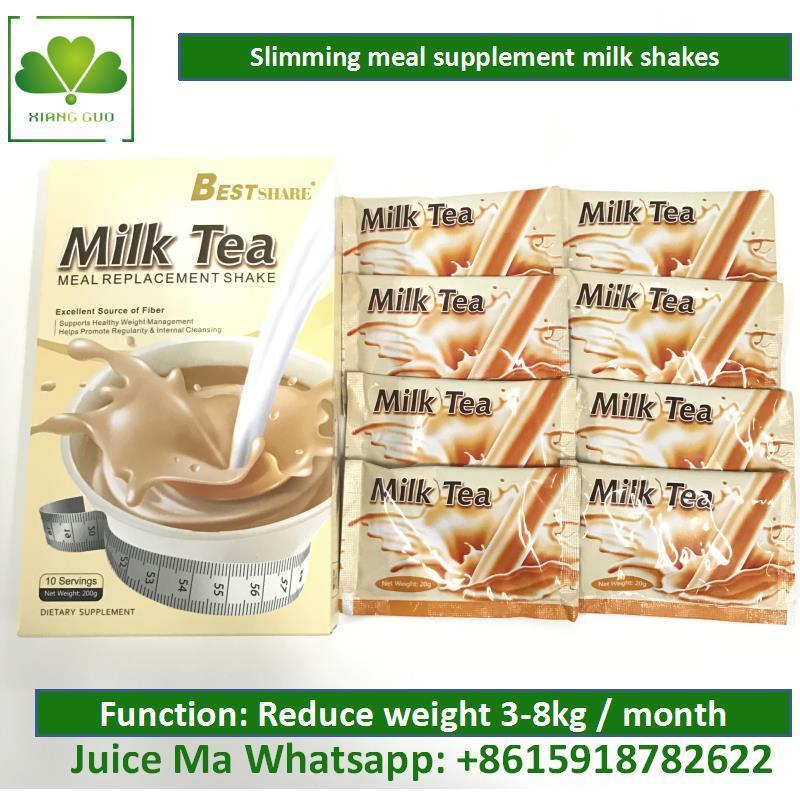 Burning Fat Slimming Milk Shakes, Full Milk Tea for Weight Loss