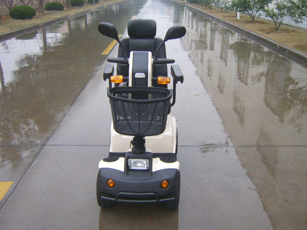 Four Wheels 24V/500W Mobility Scooter with Ce Certificate (BN411B)