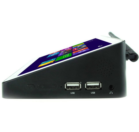 Mini PC Pipo X8 3+32g Win10 Intel Z3736f Android 4.4 TV Box