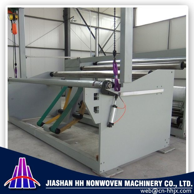 1.6m PP Spunbond Nonwoven Fabric Slitting/Cutting Machine