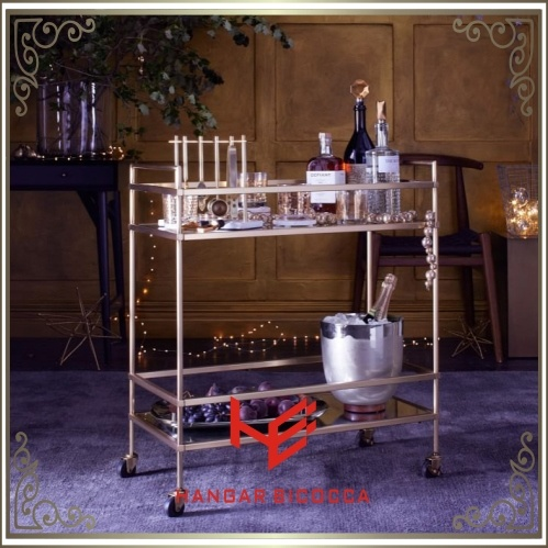 Trolley (RS150504) Cart Liquor Trolley Stainless Steel Furniture