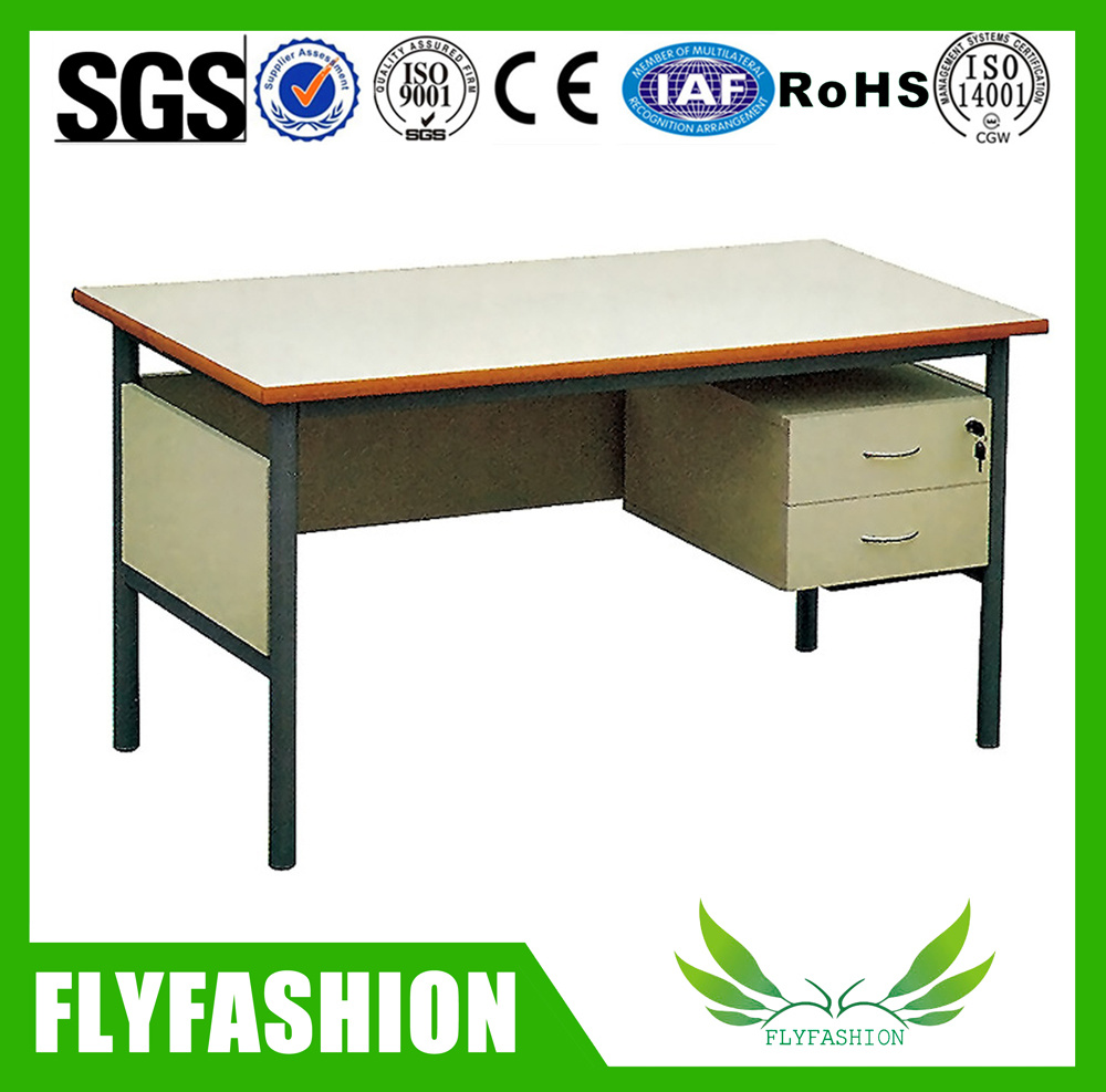 Simple Popular Office Teacher Computer Desk with Drawer Sf-07t
