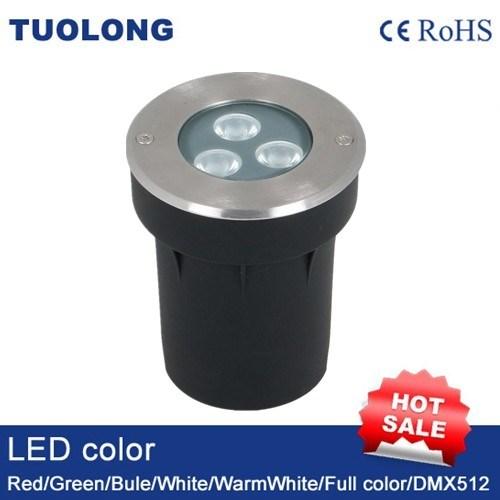 6W Small LED Inground Light Round LED Shoot Light