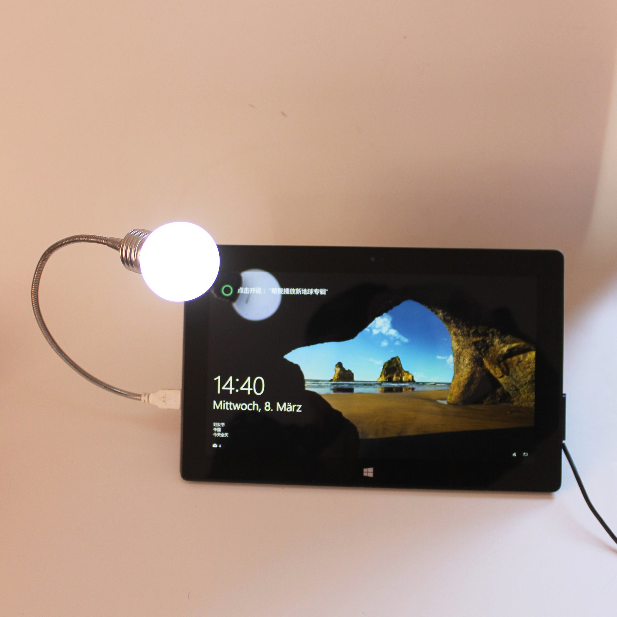 Flexible USB LED Lamp for PC Notebook-Reading Colorful