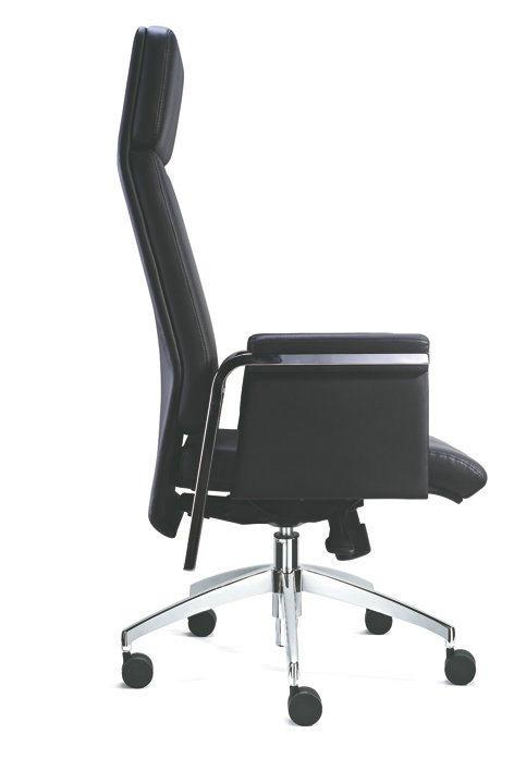 Modern Black Swivel Executive Office Chair