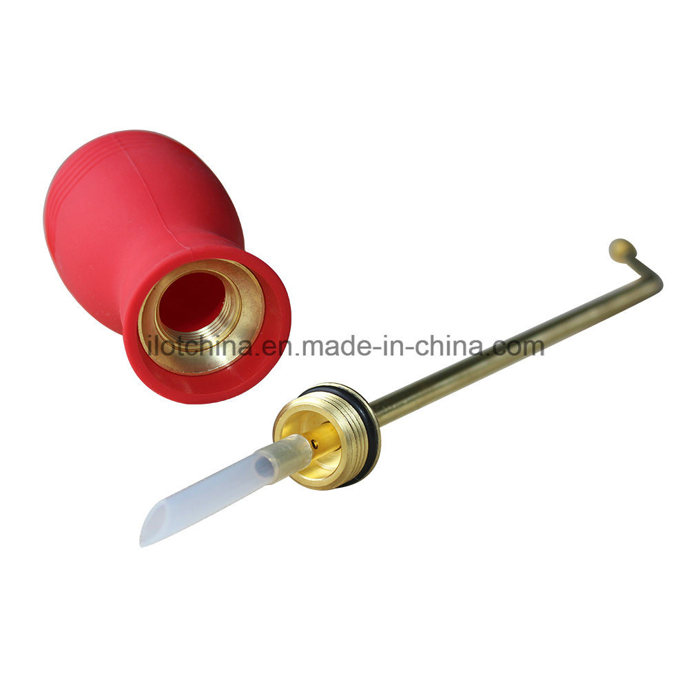 Ilot Pest Control Bulb Duster Sprayer, Pesticide Powder Duster with Long Reach Brass Lance