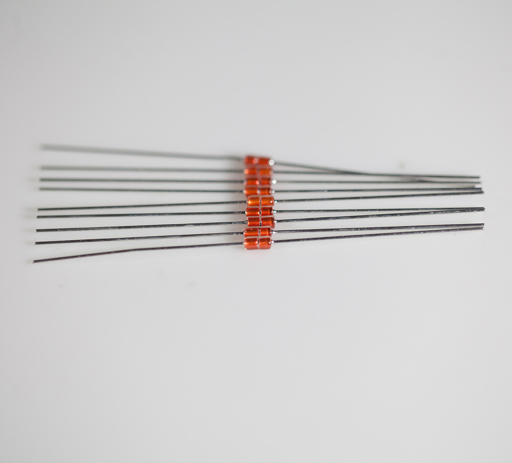 High Temperature Axial Lead Mf58 Glass Sealed Ntc Thermistor for Temperature Measurement