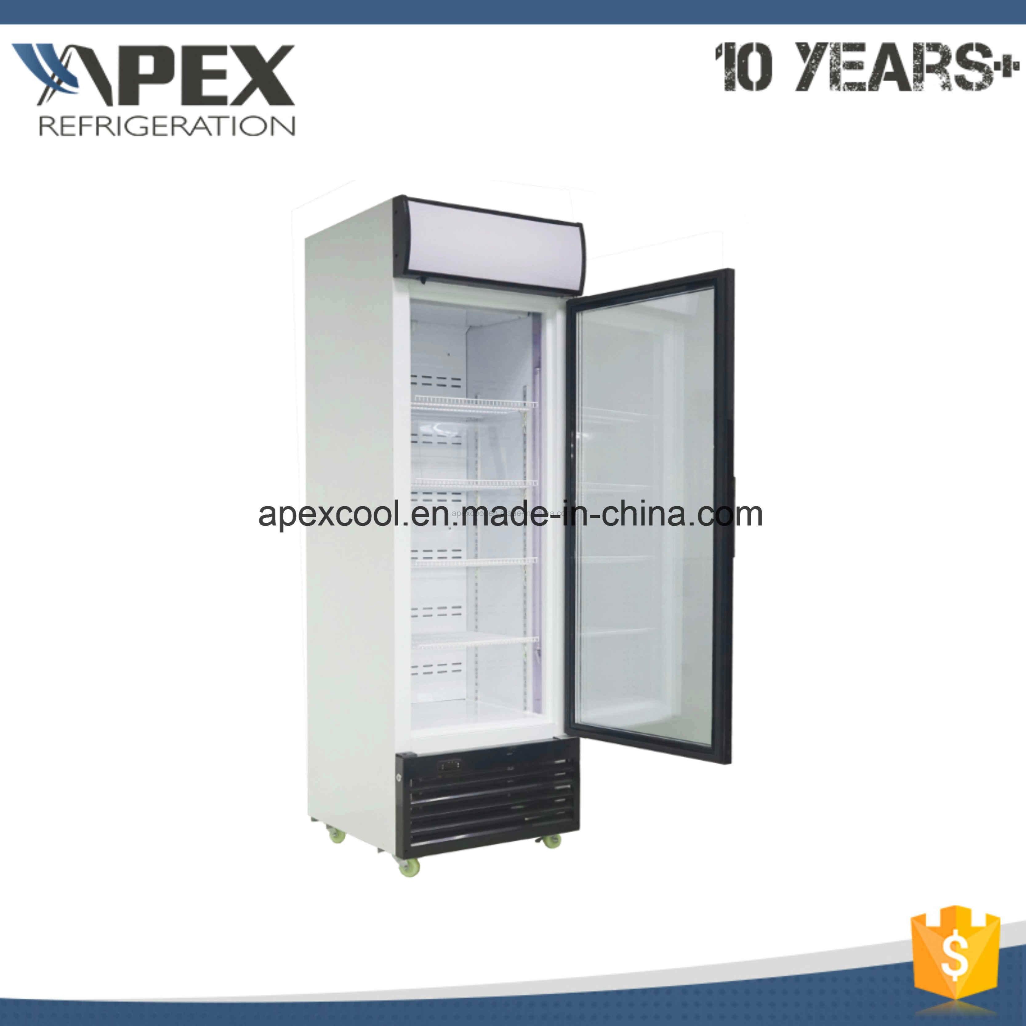 Single Door Upright Ice Creaml display Freezer