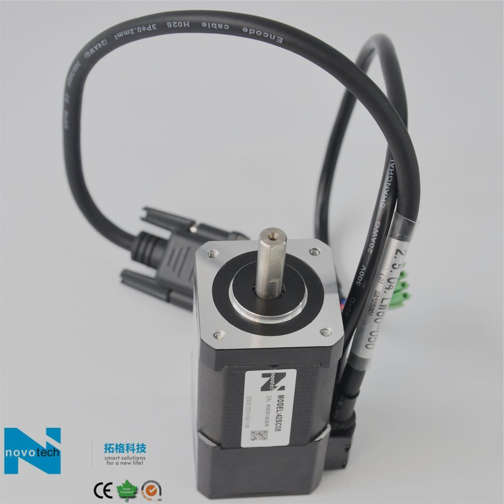 Hybrid Stepper Motor with Position Feedback
