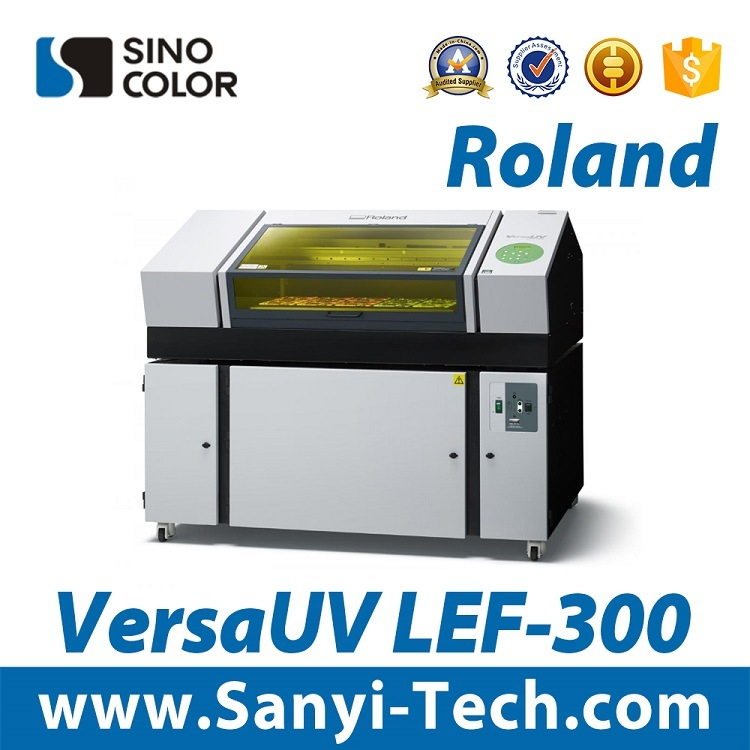 Reliable Roland Lef-300 UV Flatbed Printer Form Sinocolor
