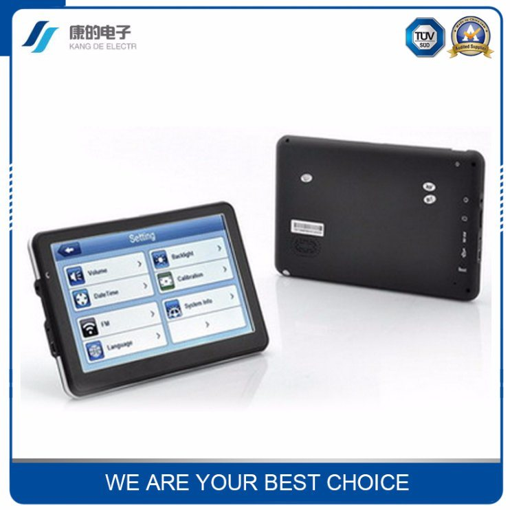 7 Inch Portable Truck Car GPS Navigation System/GPS System Tracker Export Sales in Europe / North America / Africa / South America