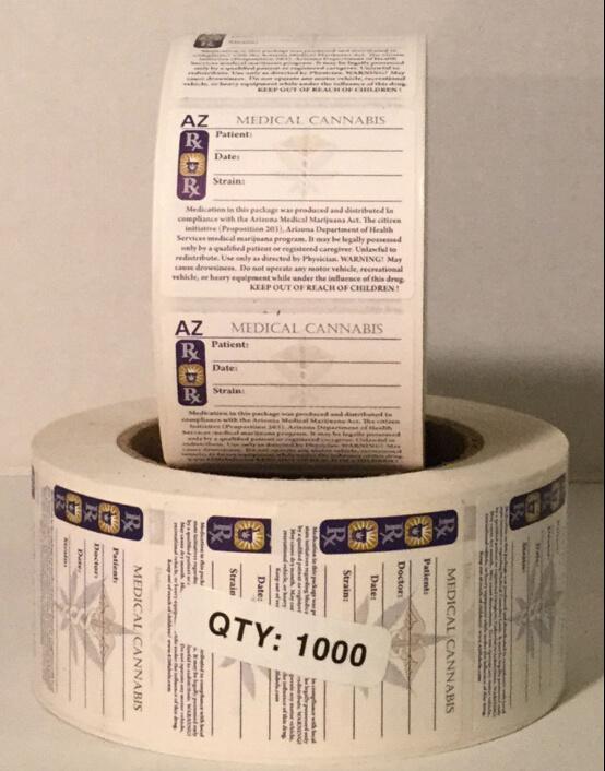 Child Resistant Legal Tobacco Warning Vinyl Sticker