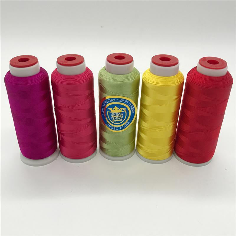Shanfa 100% Viscose Embroidery Thread 120d/2 80GM