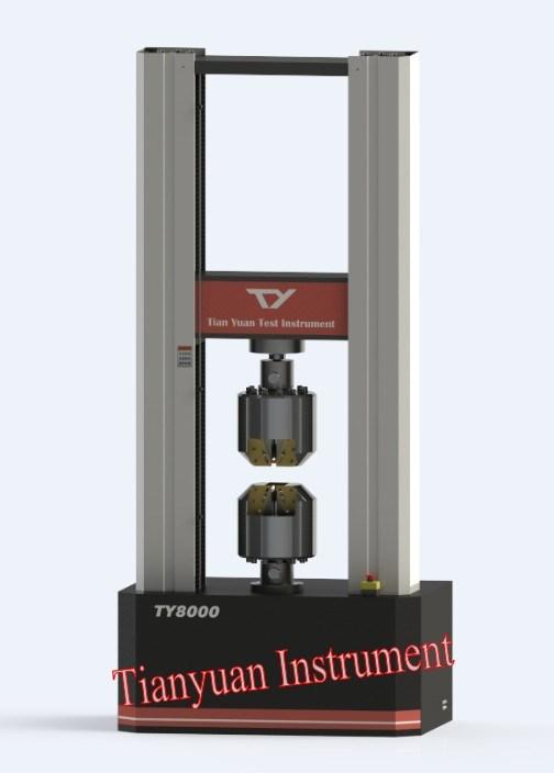Ty8000 Electronic Universal Testing Machine 500kn Test Equipment (servo motor)