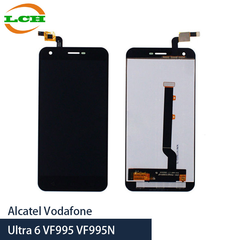 Mobile Phone LCD for Alcatel Vodafone Ultra6 Assembly Replacement