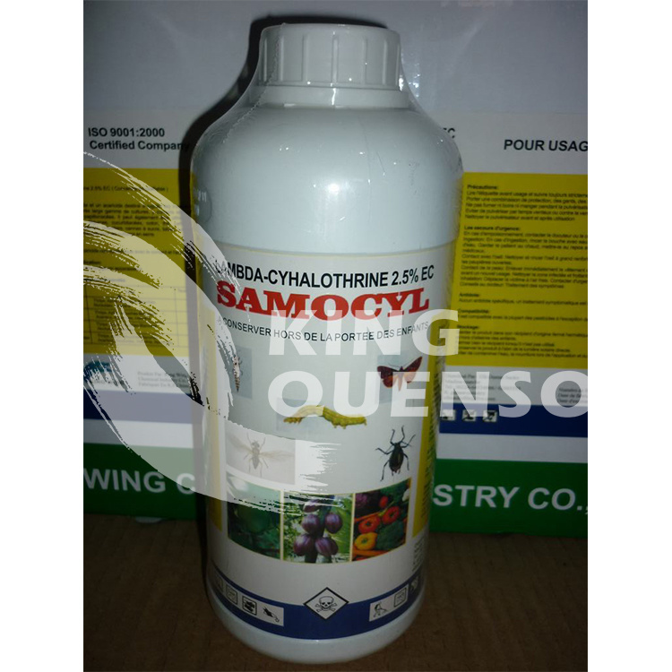 King Quenson Lambda-Cyhalothrin 95% Tc (10% WP, 2.5% EC, 10% EW, 5% EC)