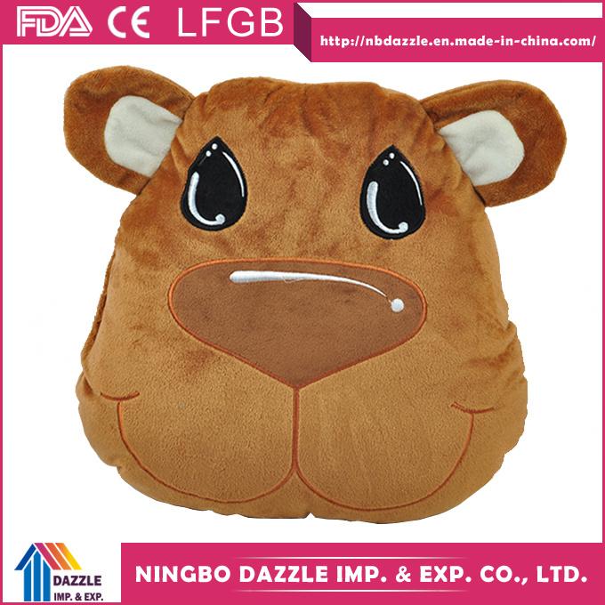 Warming Foldable 2 in 1 Animal Pillow Blanket