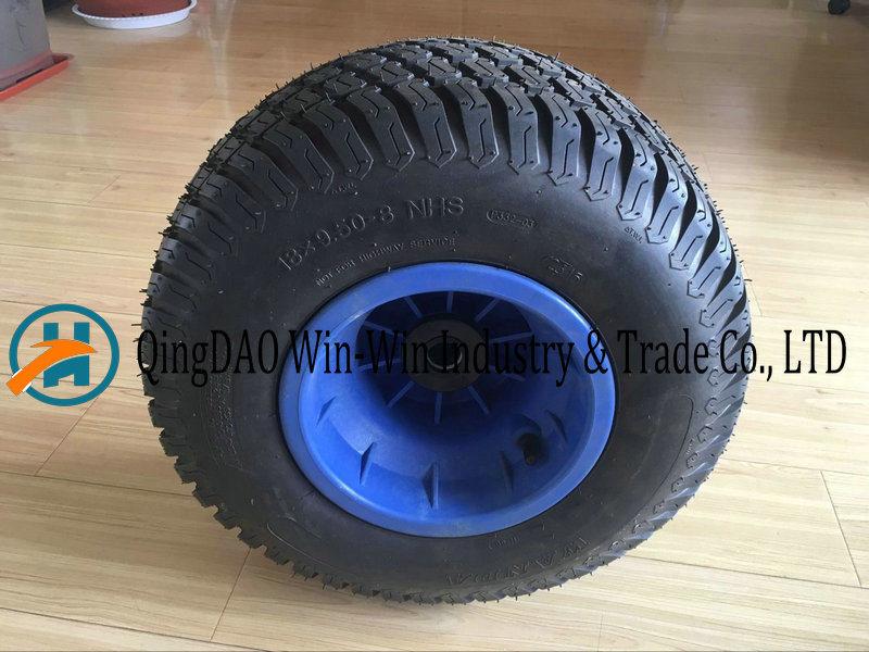 18*9.50-8/950-8 Flat Free PU Foam Wheel