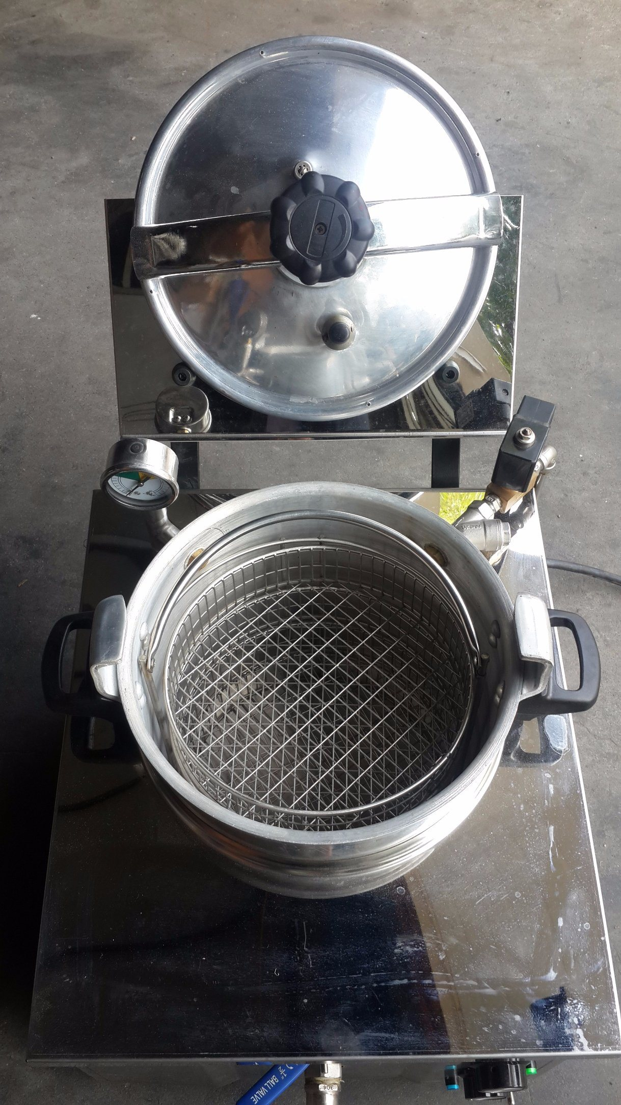 Cnix Pressure Fryer Mdxz-16