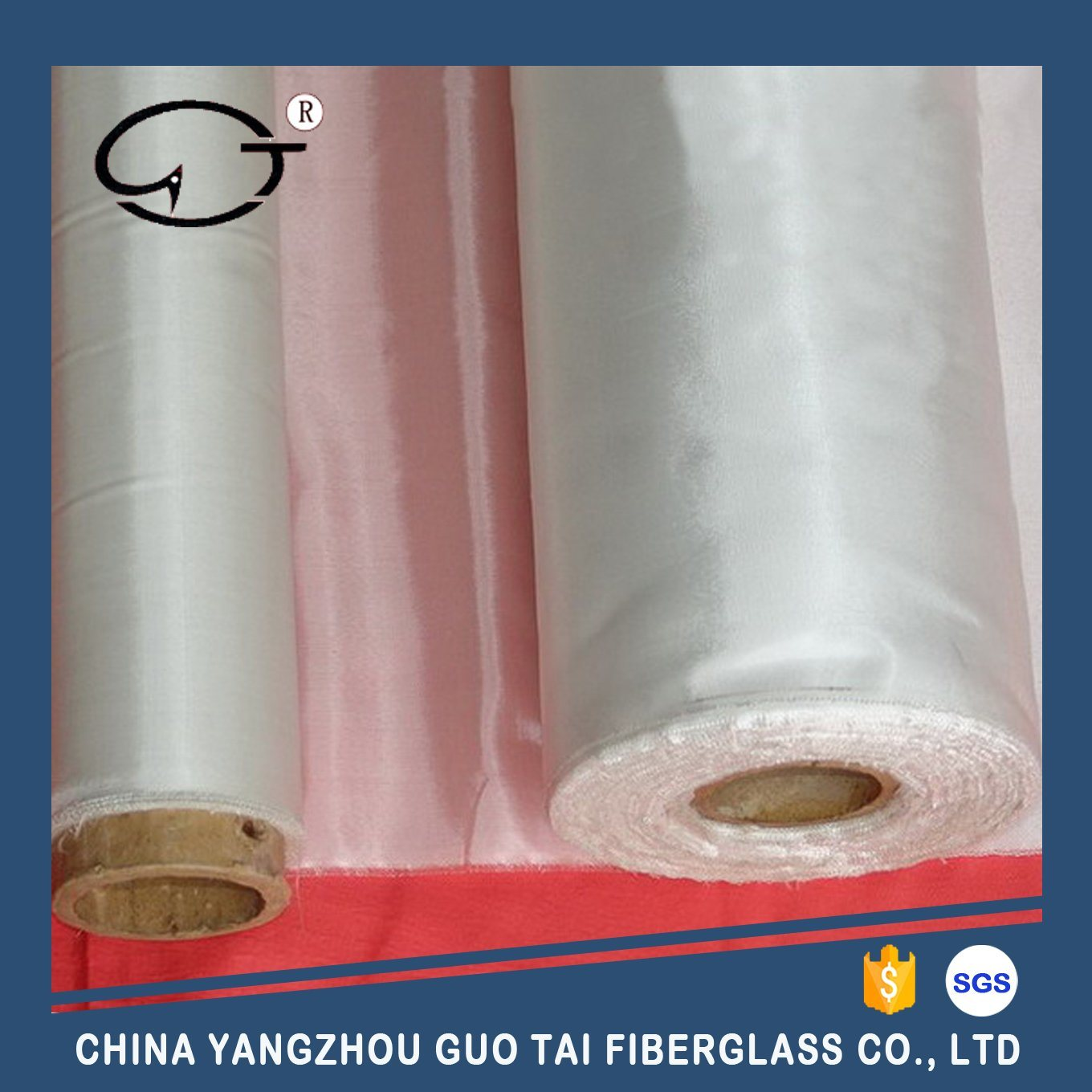 Plain Weave Fiberglass Fabric for Thermal Insulation