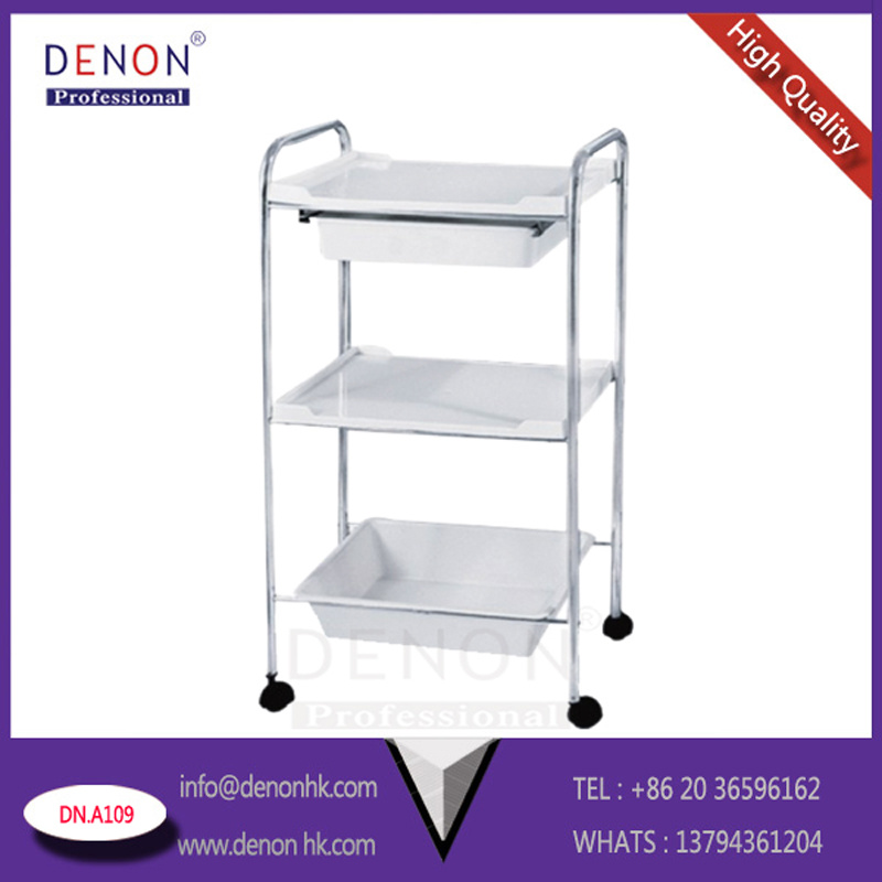 Six Layers Hair Trolley of Salon Equipment and Hairtrolley (DN. A109White)