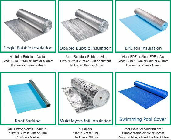 Construction Building Heat Insulation Material/XPE Foam Thermal Isolated Rolls