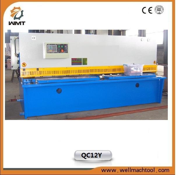 Automatic Hydraulic Metal Sheet Shearing Machine (QC12Y-10X2500)