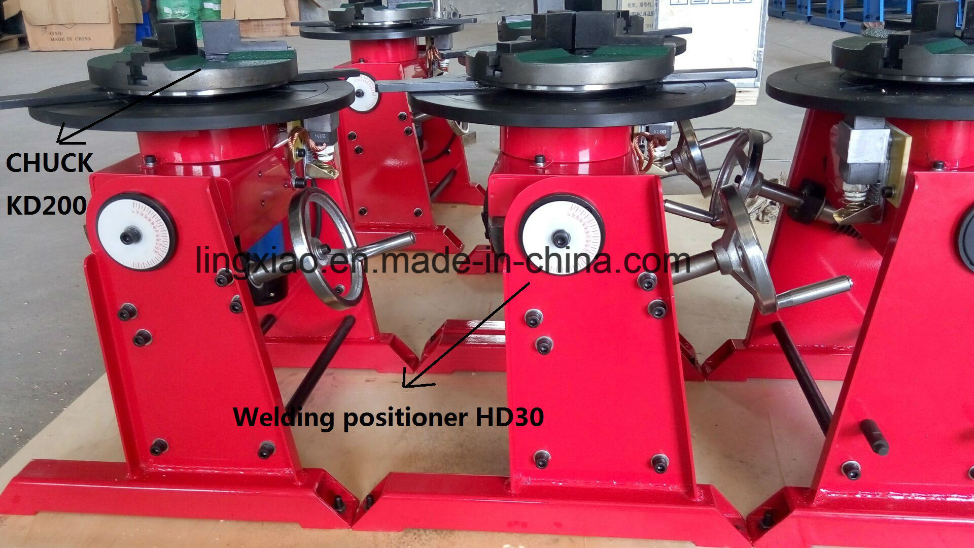 Ce Certified Welding Turn Table HD-100 for Tube Welding