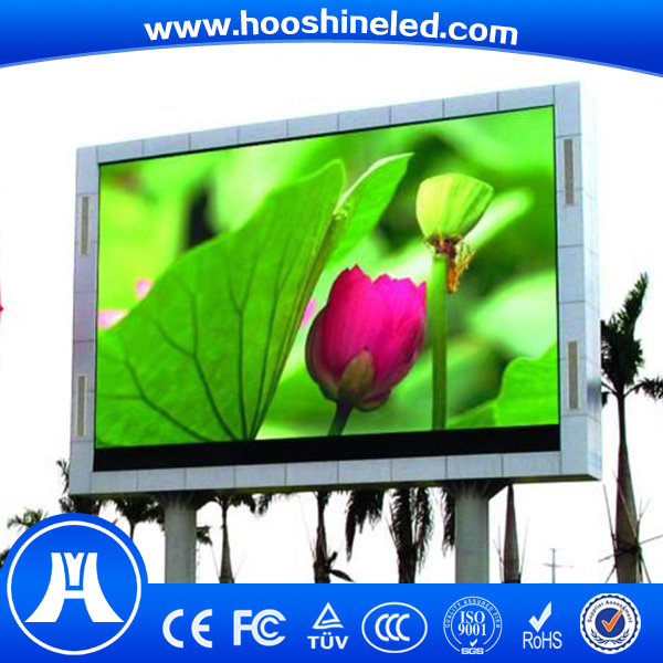 Long Lifespan Outdoor P10 SMD3535 LED Display Full Color