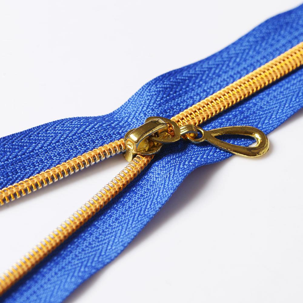 #5 Open End Golden Teeth Nylon Zippers