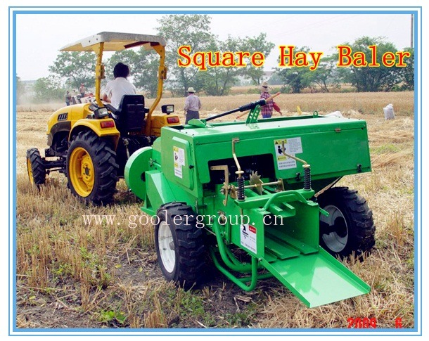 Square Hay Baler/Self-Propelled Square Hay Baler for Tractors
