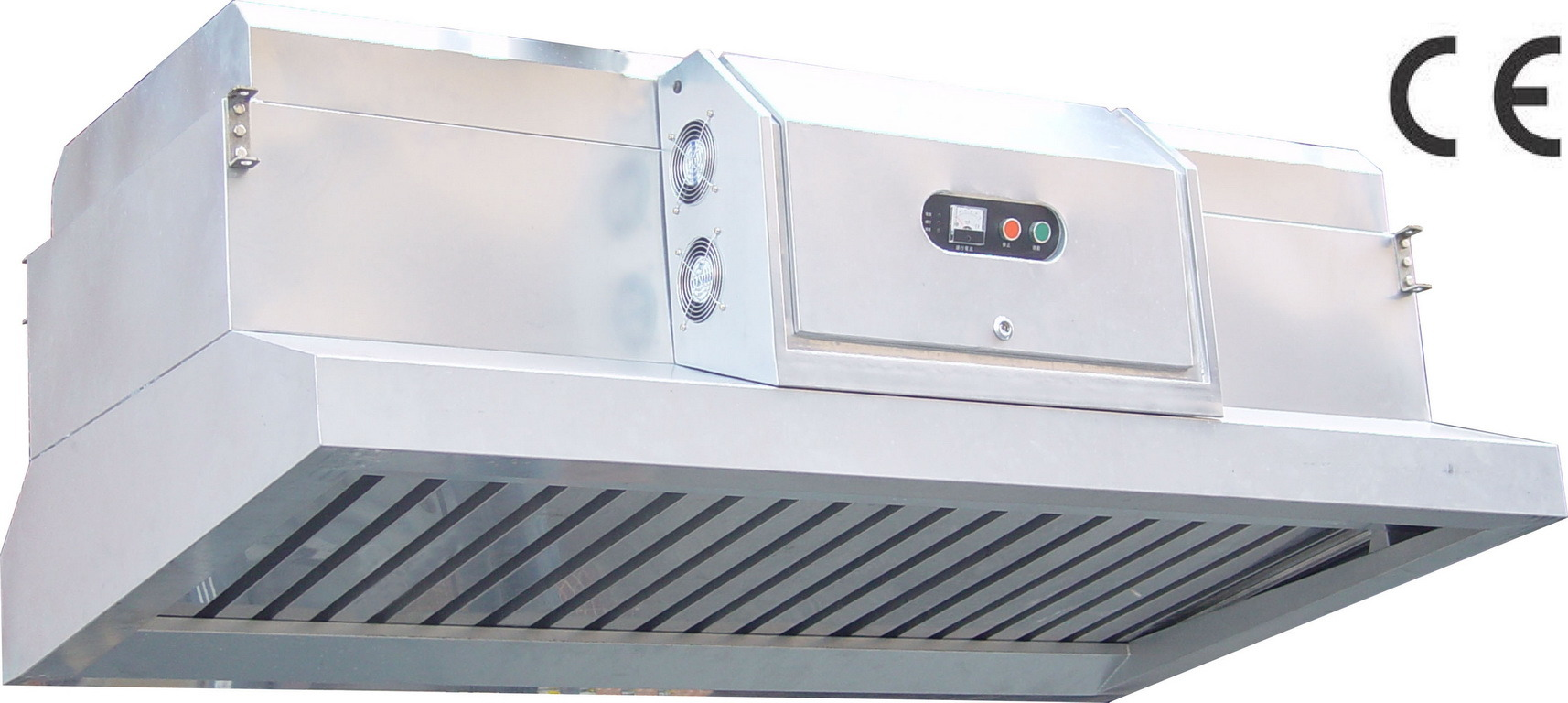Kitchen Ventilation Systems : China electrostatic cooking hood style eliminator with